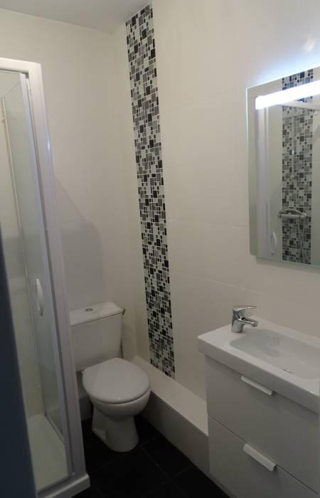 nouvelle organisation pour petite salle de bains dun appartement f2 quais de loire